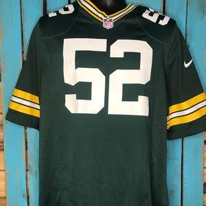Nike Green Bay Packers Clay Matthews Jersey Medium